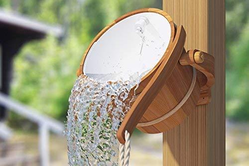 Sauna bucket shower