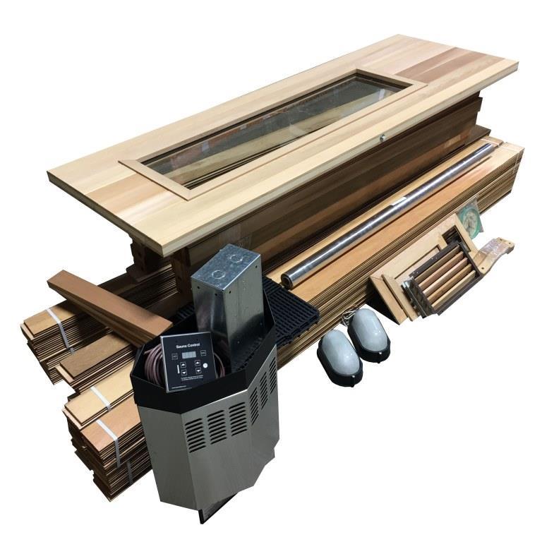 Diy Complete Sauna Kit 5 U0026 39  X 5 U0026 39