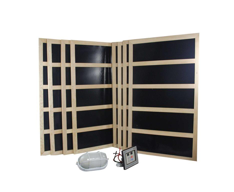Complete Infrared Sauna Heater Package 2400 Watts