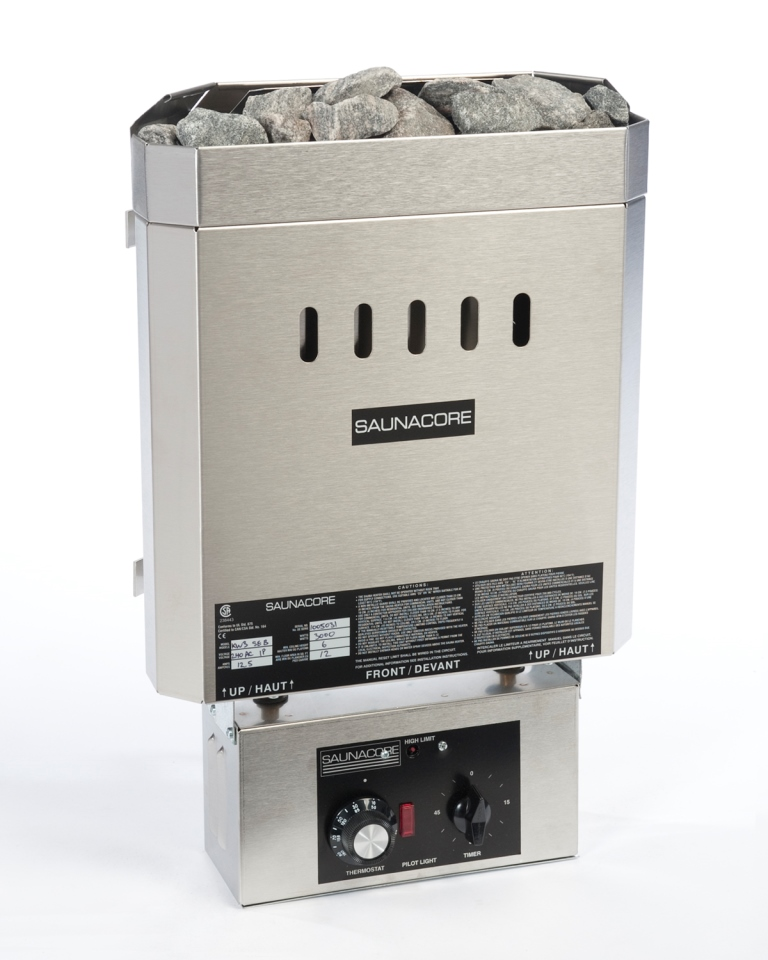 3.0 Kw BSE Special Edition Sauna Heater - Stainless - Mechanical Controller - Click Image to Close