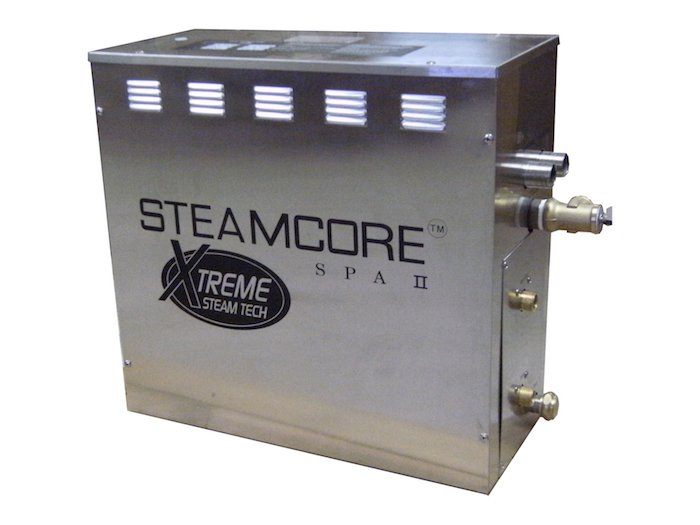 10.5 Kw Steam Generator- SPA II - Chrome controller